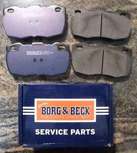 Land-Rover-Defender-Front-Brake-Pad-Borg-amp-Beck-1994-onwards-W-Shop-Manaul-CD