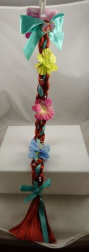 Disney Ariel from Little Mermaid long red hair braid with flowers dress up girls