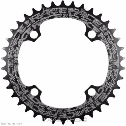 RaceFace Black Narrow-Wide 30,32,34,36,38T x 104 MTB Chainring 9 10 11 12-Speed