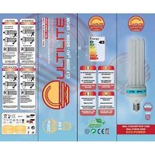 Lampada Cultilite G-Shock CFL 200W Grow 6400°K white crescita vegetativa
