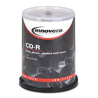 Innovera Cd-r Discs 700mb/80min 52x Spindle Silver 100/pack 77990 on sale