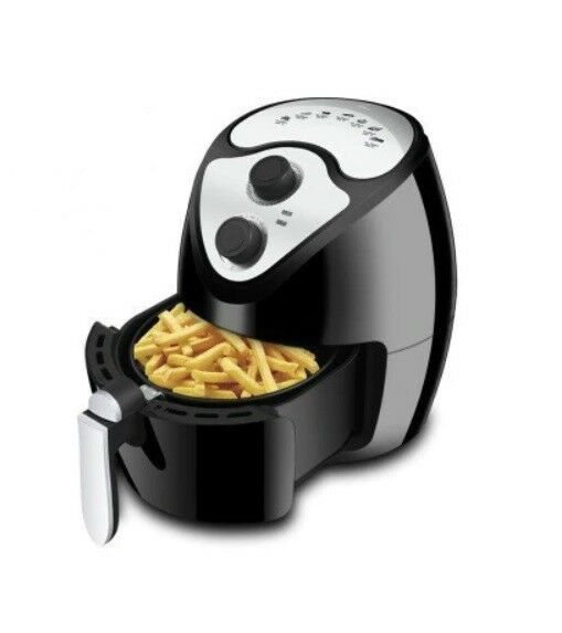 220V Multifunctional Power Electric Hot Air Fryer Oil Libre