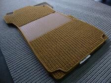 $$$ Original Lengenfelder Rips Fußmatten für Mercedes Benz W114 W115 + COGNAC $$