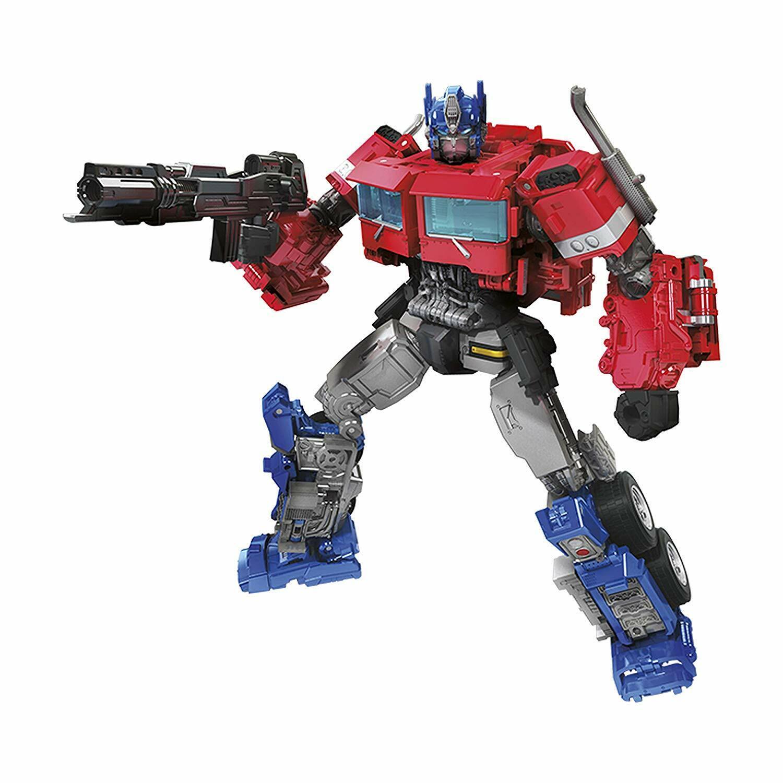 barato Transformers Juguetes Studio Serie 38 Viajero Viajero Viajero Clase Bumblebee Película Optimus Prime  hasta un 50% de descuento