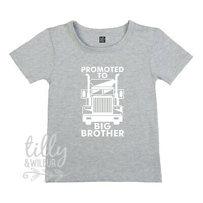 Pregnancy Announcement Shirt Promoted To Big Brother Kenworth T-Shirt Big Bro