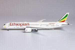 """1:400 NG Models Ethiopian Airways 787-9 """"London"""" ET-AUP 55063 Model *NEW*"""