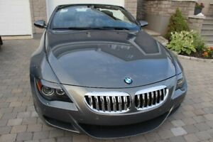 BMW M6 CONVERTIBLE,  V10, 7-speed SMG,Leather, carbon,