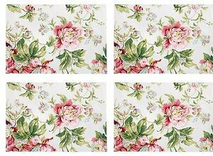 Waverly Forever Yours Set of 4 Placemats New with tags Pretty Place ...