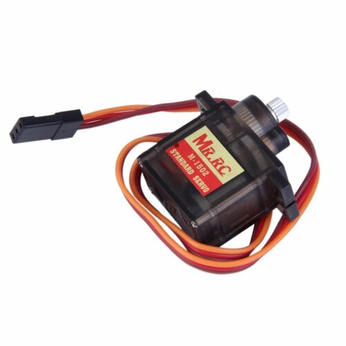 MR.RC M-1502 9g Standard Servo Motor Metal Gear For RC Helicopter Car AirplaLR