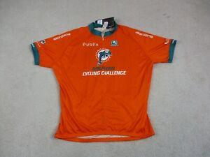 Cycle Jersey Adult 4XL XXXXL Orange