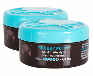 Details about Moosehead Grubby Putty 100g Solid Matte Styler Wash Out  Formula