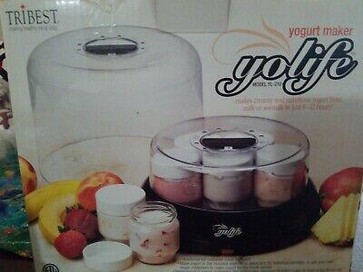 Tribest Yolife Yogurt Maker Model YL210 ~New