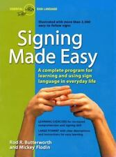 Perigee: Signing Made Easy by Mickey Flodin and Rod R. Butterworth (1989, Paperback)