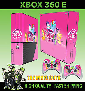 Amical Xbox 360 E My Little Pony Rose Arc En Ciel Tableau Autocollant Peau Superslim & La RéPutation D'Abord