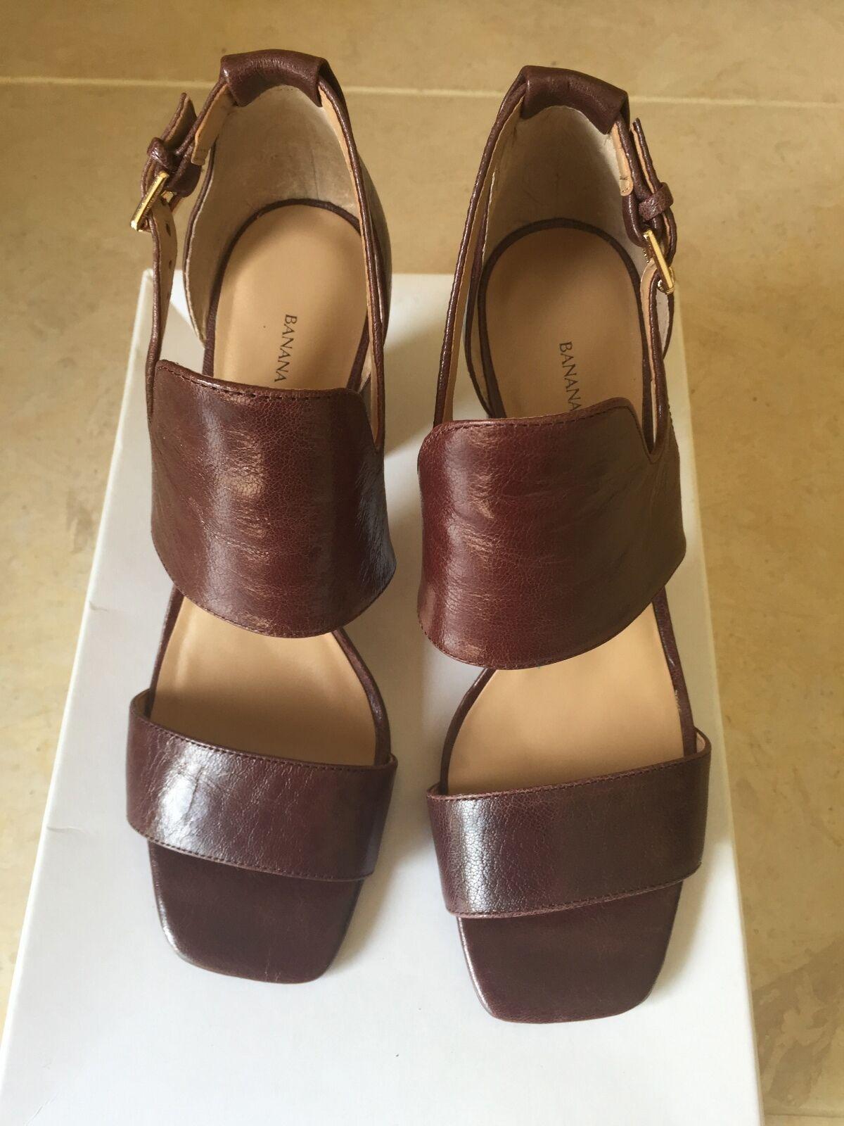 NEU Leder schuhe Sandale Günstige und gute Schuhe