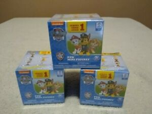Paw-Patrol-Series-1-Mini-Figures-Lot-of-3-Blind-Box-Mystery-NEW-SEALED