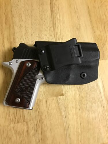 *****Kimber Micro 9mm IWB Kydex Holster with Sweat Guard*****