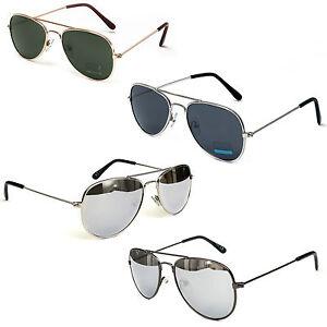 Kinder-Junior-Piloten-Sonnenbrille-im-Aviator-Design-Unisex