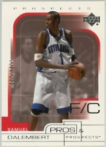2001-02-Upper-Deck-Pros-and-Prospects-103-Samuel-Dalembert-NM-MT-RC-Rookie-100