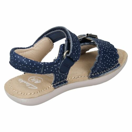 CLARKS Ivy Blossom Girls Leather Sandal