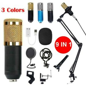 BM-800-Set-di-registrazione-per-microfono-a-condensatore-Studio-con-Shock-Mount