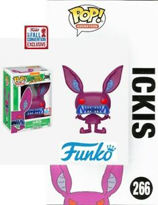 FUNKO-POP-NICKELODEON-AAAHH-MONSTERS-ICKIS-CONVENTION-EXCLUSIV-FIGUR-NEU-OVP