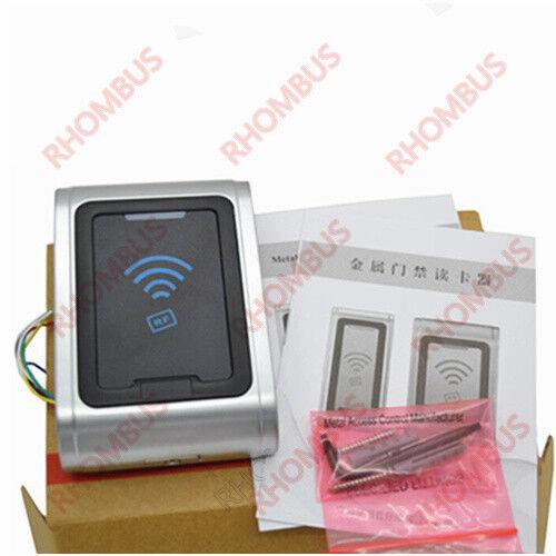 Metal Shell Waterproof 125Khz Wiegand26 EM prox RFID Access Control Card Reader