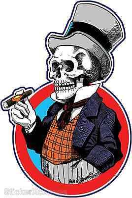 Mr. Bones Sticker Decal Artist Ben Von Strawn BV5