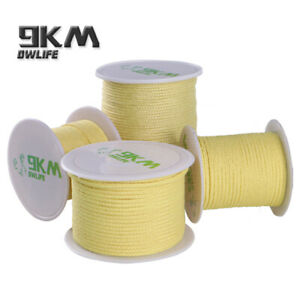 BRAID KEVLAR LINE STRING FISHING KITE FLYING TACTICAL CAMPING MADE WITH KEVLAR