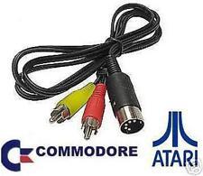 CAVO AUDIO VIDEO COMMODORE VIC 20 C64 128  PLUS4 ATARI ETC.