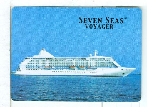 "Single Wide Playing Card /""Seven Seas Voyager/"" Shipping Steamship"
