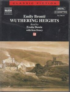 Wuthering-Heights-Emily-Bronte-3-Cassette-Audio-Book-Abridged-Freda-Dowie