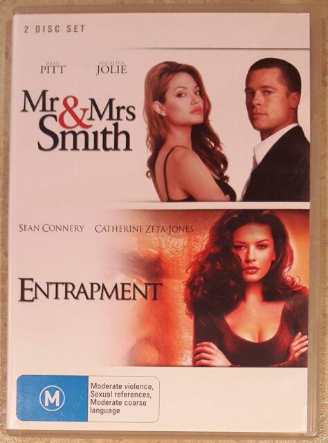 Mr & Mrs Smith / Entrapment (Pitt, Jolie, Zeta-Jones) 2 Disc Set [DVD] (Region4)