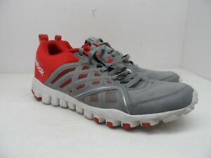 2cedf2cdeacd8b Reebok Men s Realflex Speed 3.0 Running Shoes Gray Red Size 13M