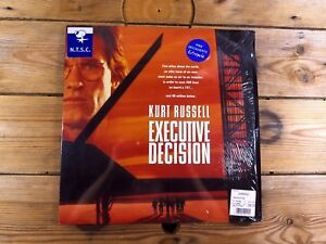 EXECUTIVE-DECISION-LASERDISC-LD-NTSC-KURT-RUSSEL-1996