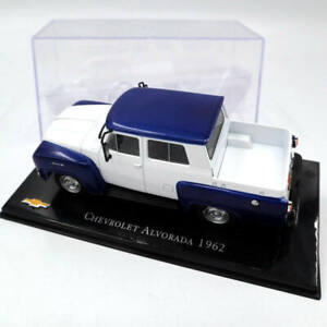 IXO-1-43-Altaya-Chevrolet-Alvorada-1962-Diecast-Toys-Cars-Models-Collection
