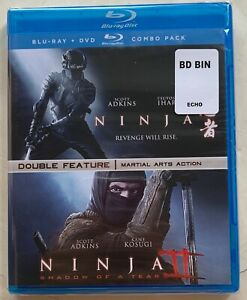 NEW-NINJA-1-amp-2-DOUBLE-FEATURE-BLU-RAY-2-DISC-SET-FREE-WORLD-WIDE-SHIPPING-BUYIT
