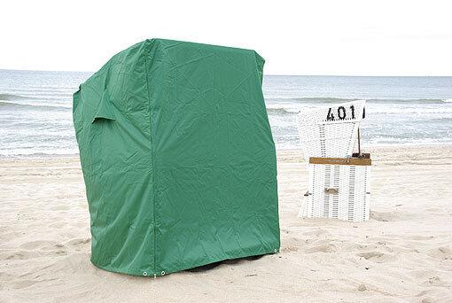 Strandkorbabdeckhaube in grün .. Stiefelplane .NEU ...125cm breit breit breit bbebaa