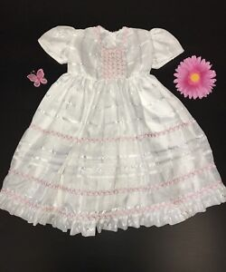 f544f9336 Details about BABY GIRL'S DRESS 12 MONTHS / VESTIDO PARA NIÑAS 12 MESES