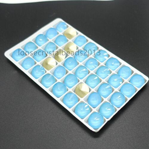 Nouvelle couleur moka ELEMENTS Crystal Rivoli GLASS LOOSE BEADS 8//10//12//14//16//18mm