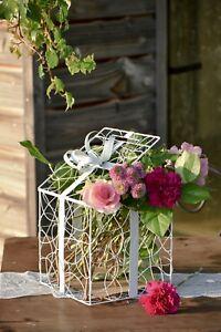 Geldbox Hochzeit Geschenkbox Geschenk Box Deko Hochzeitsdeko Blumen Gesteck