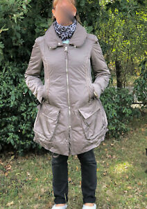 M-amp-F-GIRBAUD-luxueux-manteau-garni-duvet-d-039-oie-taille-M-comme-neuf-valeur-800