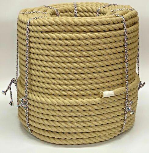 20 mm ropeservices Synthétique Chanvre Hempex POLYHEMP//terrasse//jardin Corde Par Mètre