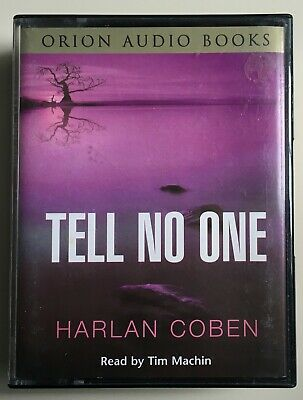 100% Waar Audio Book Harlan Coben Tell No One Read By Tim Machin On 4 X Cassettes