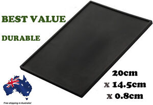 15 x 20 cm New Barista Black Thick Large Professional Tamping Mat Tamper Pad