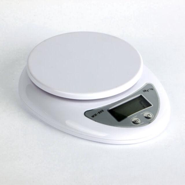 5kg 5000g/1g Digital Kitchen Food Diet Postal Scale Weight Balance Feb19
