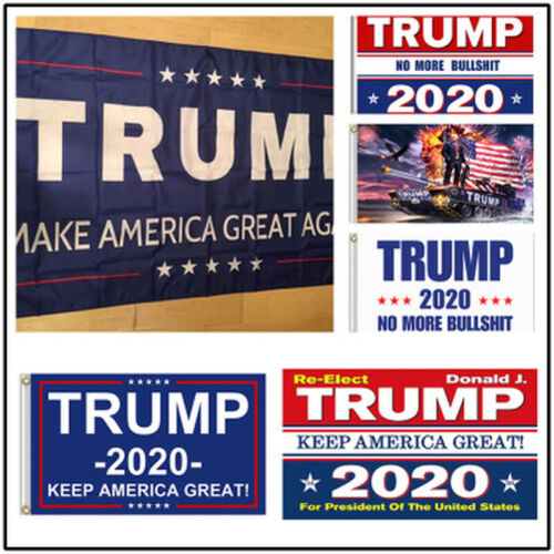 President Donald Trump Flag 2020 Keep Make America Great MAGA 3x5 Ft Banner-by