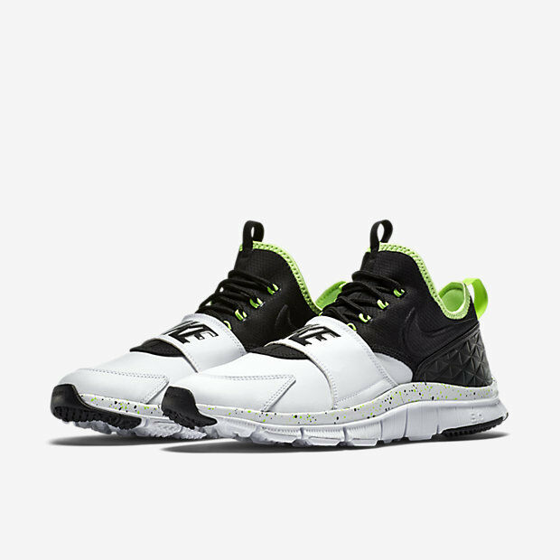 Homme Nike Free Ace Leather Blanc/Ghost Vert/Noir New In Box