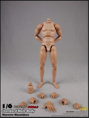 COOMODEL Xing SERIE 1//6 super flessibile corpo maschile rimborsare versione 2.0 BD001//BD002