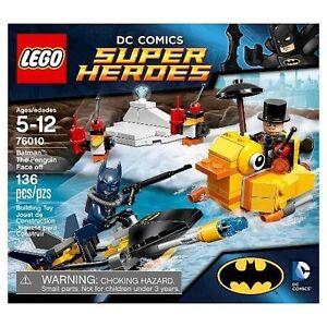 New Dc Comics Super Heroes Lego Set 76010 Batman The Penguin Face